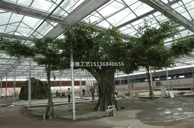 人造仿真树批发 源景花卉工艺有品质的仿真树