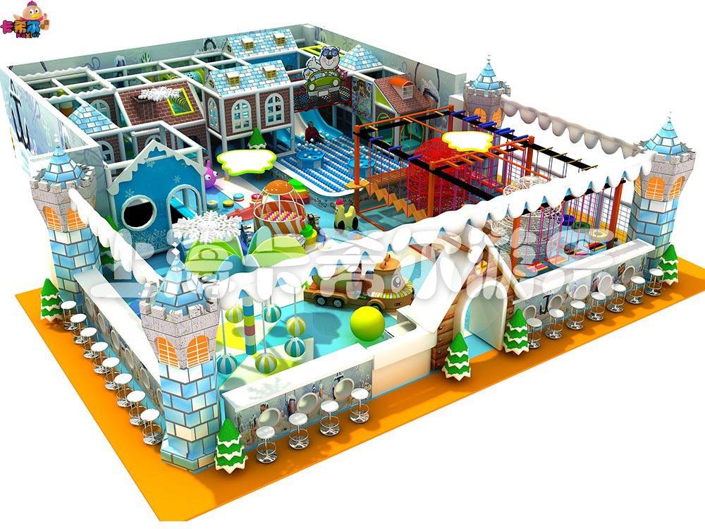 山西淘气堡儿童乐园 浙江专业的冰雪系列儿童室内淘气堡
