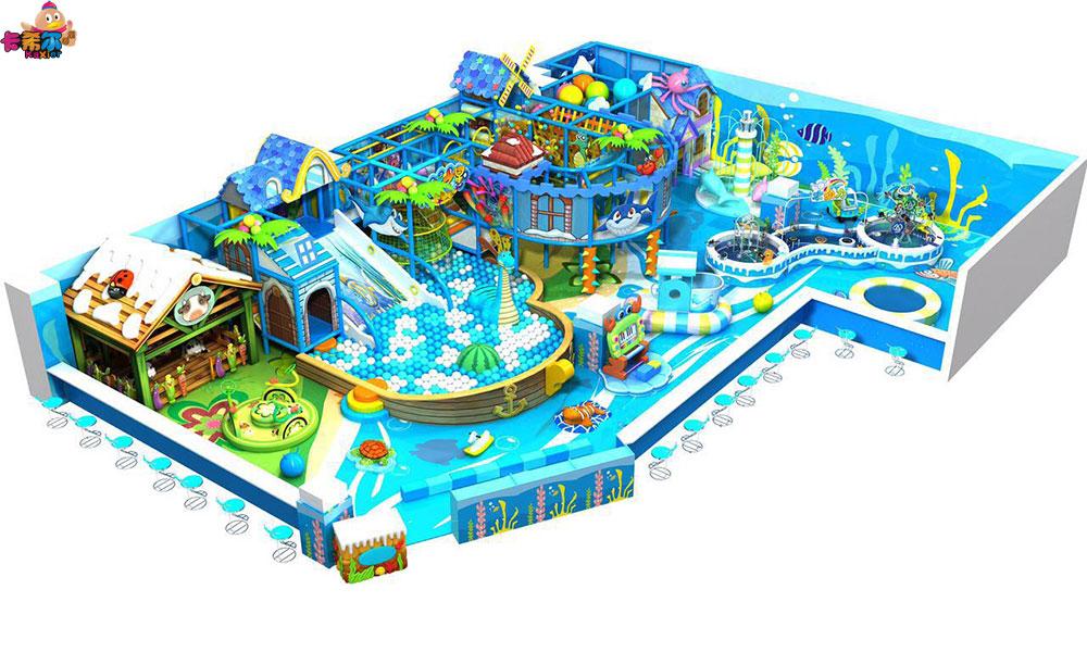 创新的冰雪系列儿童室内淘气堡就在卡希尔游乐设备 福建淘气堡儿童乐园