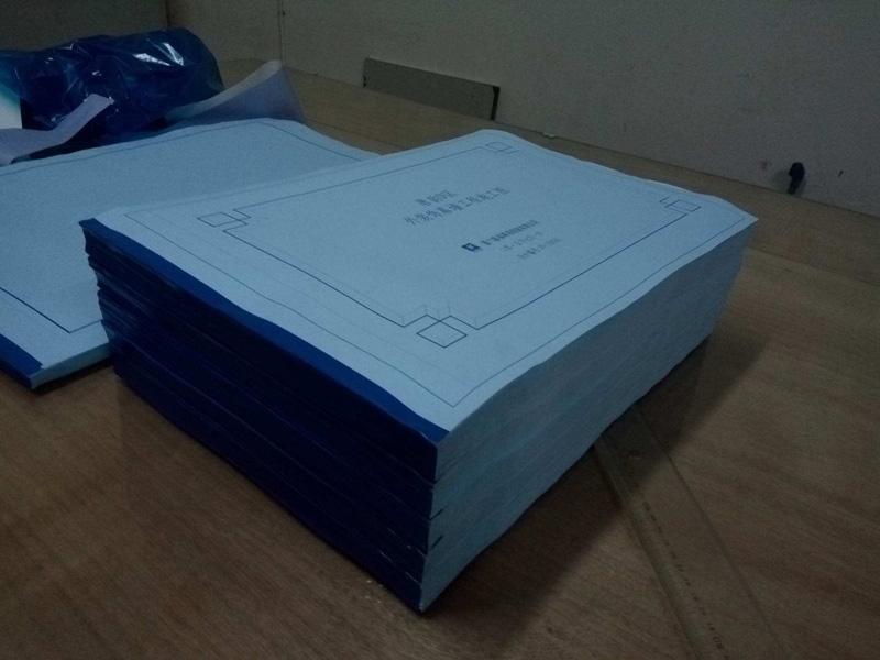 打印图纸怎样 想要打印图纸装订就找立得快印
