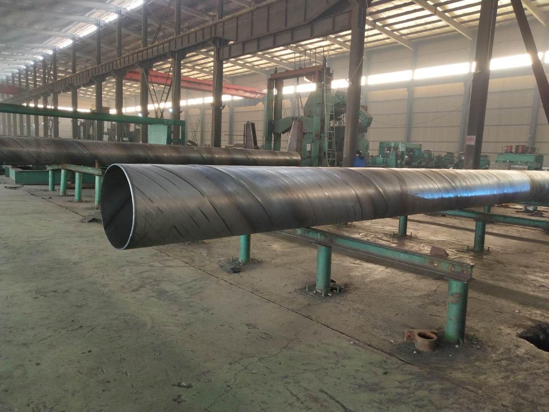 河北厂家大量定做螺旋钢管Q235螺旋钢管螺旋焊接钢管