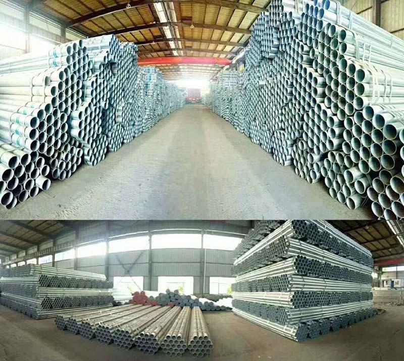 高韧性郑州镀锌管供应批发——郑州镀锌钢管价格如何