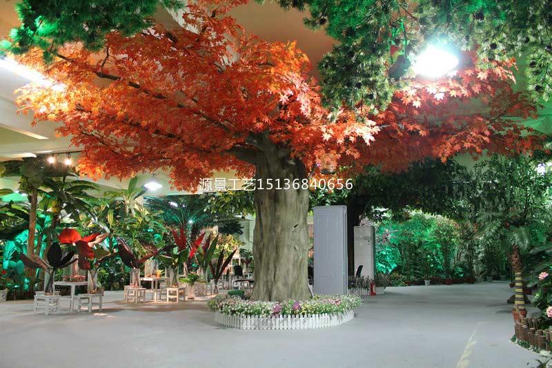 软装装饰仿真植物墙批发价格,河南仿真树