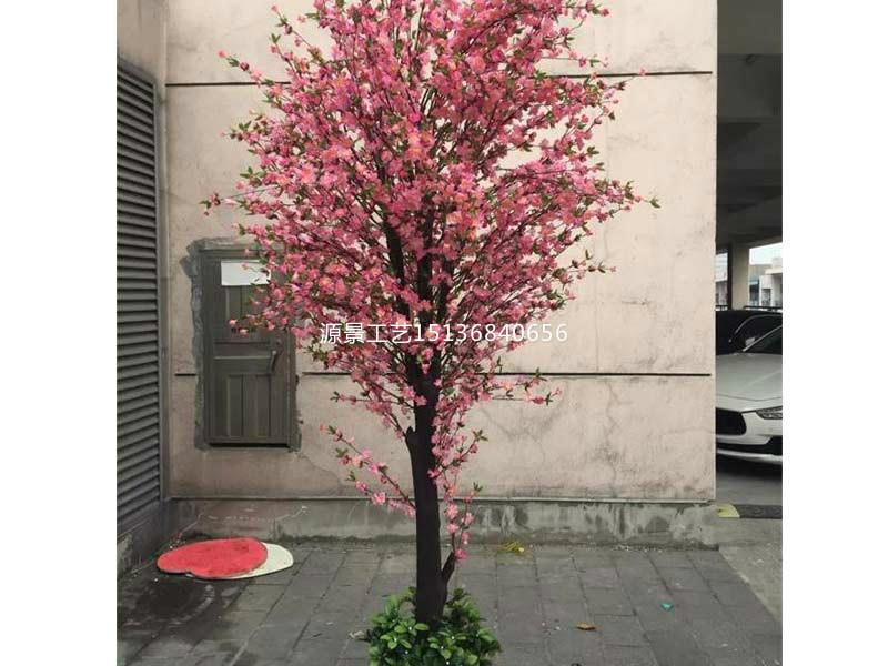 哪里能买到优良仿真桃花树,仿真桃花树厂家