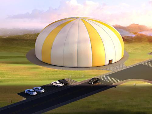 柳州充气膜-柳州充气式膜结构——南宁充气膜结构建筑