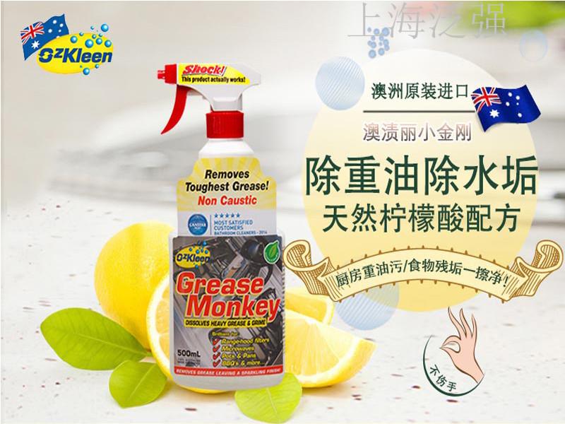 上海泛强贸易专业供应厨房去油清洁剂 进口厨房去油清洁剂