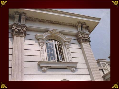 河池欧式grc门窗套|想买质量好的百色欧式构件上哪