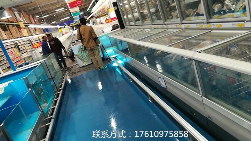 安徽商场地面维修|服务好的商场地面施工改造中山洛肯速凝建材