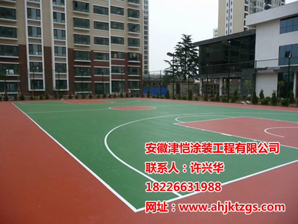 为您推荐质量好的合肥硅pu塑胶篮球场-合肥硅PU球场造价