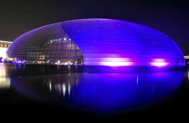 造型柔美的新疆充气膜结构 气膜运动馆