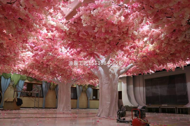 想买合格的软装装饰仿真植物墙,就到源景花卉工艺   _许昌仿真樱花树批发