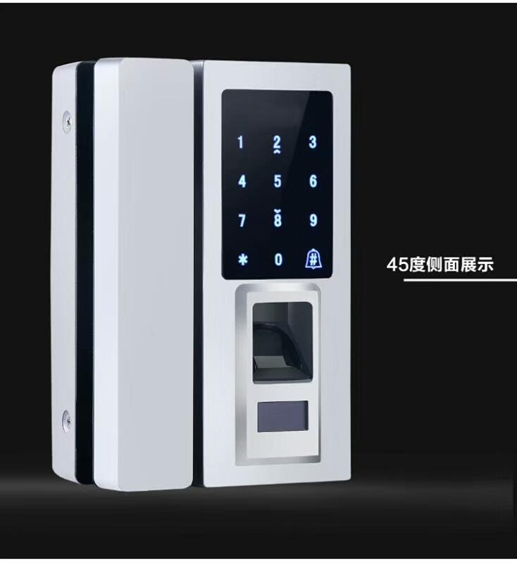 玻璃門密碼鎖價格-西安區域質量好的玻璃門指紋鎖