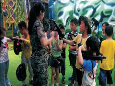 广州CS体验馆-质量好的真人CS尽在智多宝动漫科技
