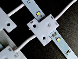 LED卷帘灯广告软膜拉布硬灯条12v灯箱灯条2835硬灯条