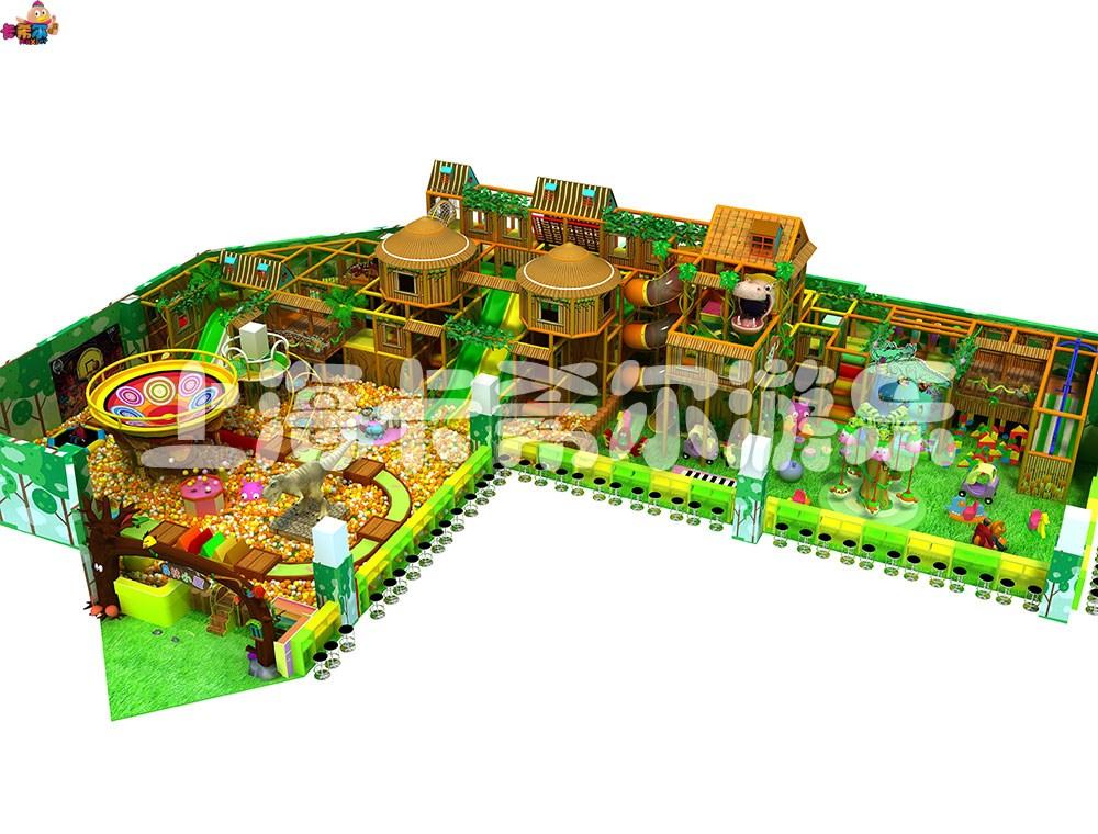 加盟室内儿童淘气堡乐园|卡希尔游乐设备森林系列淘气堡品质优良