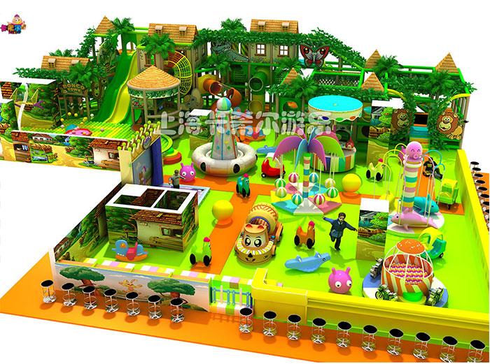 兒童室內淘氣堡游樂園加盟哪家好,森林系列淘氣堡_低投入 高回報