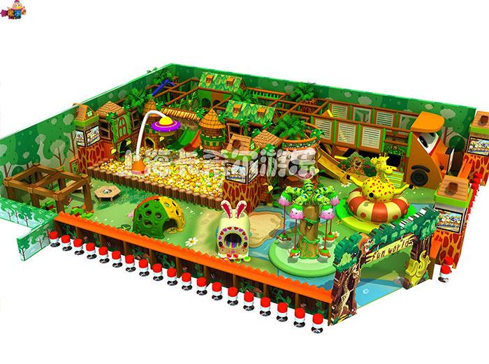 卡希尔游乐设备森林系列淘气堡品质优良 山西儿童淘气堡加盟