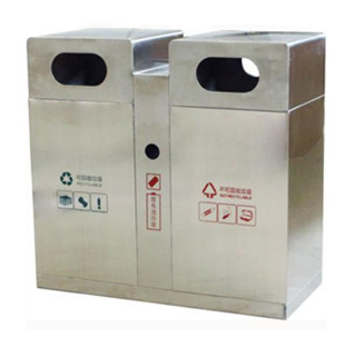 不锈钢垃圾桶哪里买|河北专业的不锈钢垃圾桶厂家