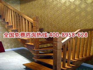 耐用的原木楼梯当选合肥甘林木制品-原木楼梯生产厂家