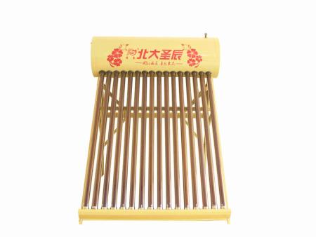 山东圣辰太阳能为您供应好的洗浴采暖一体机钢材 -太阳能厂家