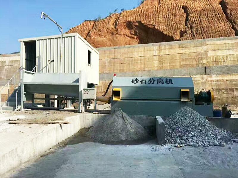 砂石分离机的使用