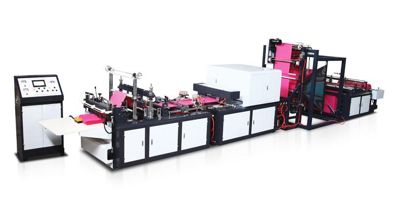 华博机械供应报价合理的无纺布制袋机 各类无纺布立体袋制袋机