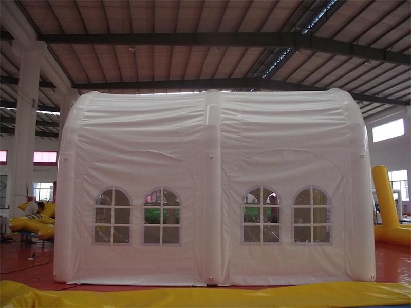 广州广沪联合气模_充气帐篷品质优良 移动餐厅充气帐篷图片