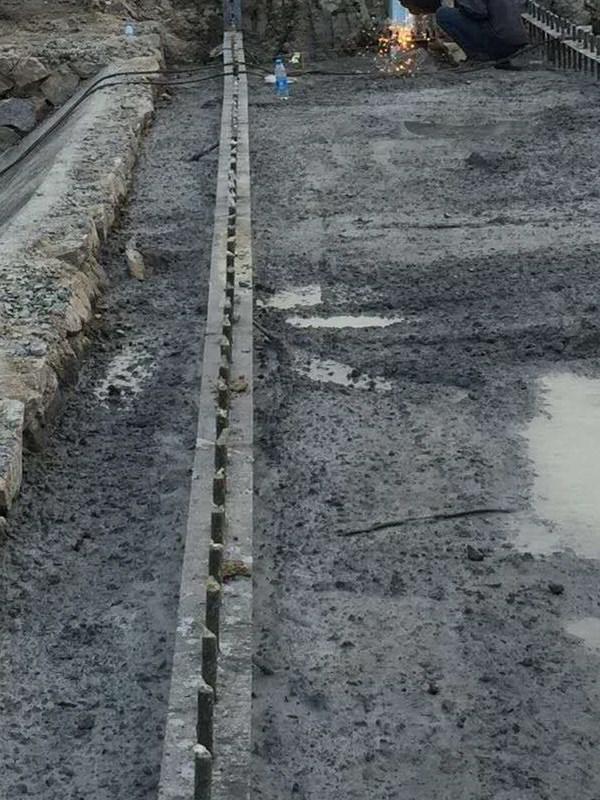 橡胶坝地基施工图哪里有供应——精品橡胶坝地基施工图