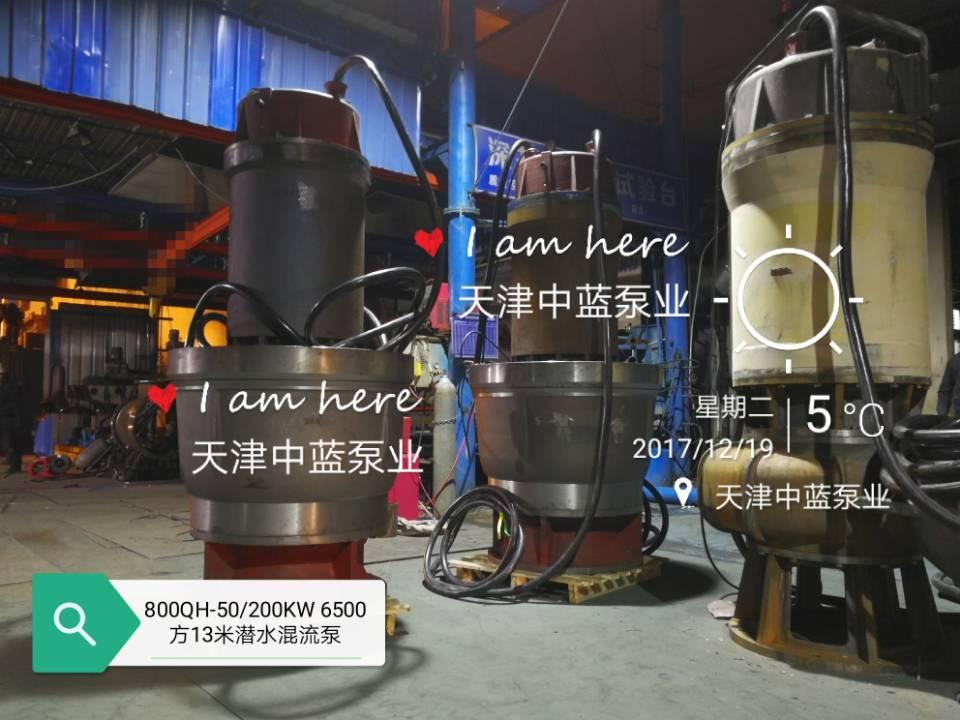 天津中蓝泵业供应好的500QZB潜水轴流泵|新型潜水轴流泵