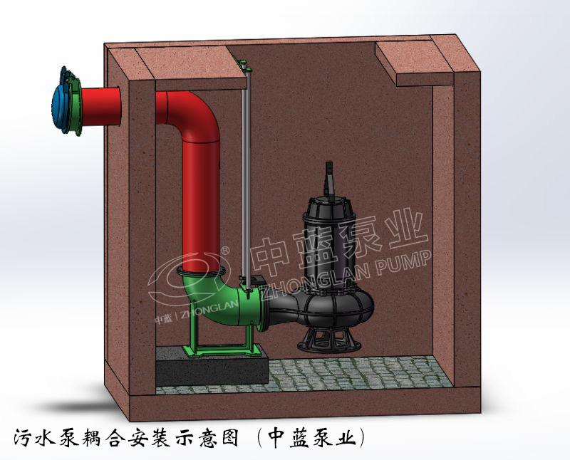 热卖潜水排污泵厂家|天津中蓝泵业——畅销无堵塞污水潜水泵提供商