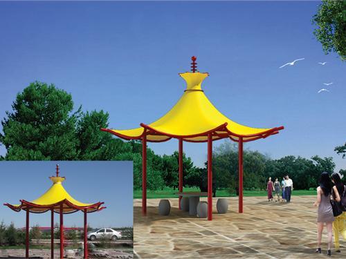 贵州膜结构工程-景观膜结构批发
