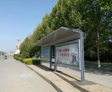 實用的公交站臺-買專業的公交站臺優選金智源廣告設備