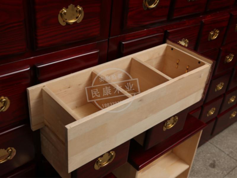 中药货架定制-质量好的实木中药柜供应