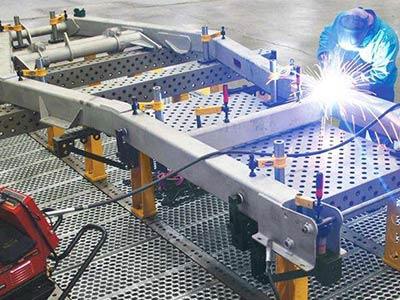 销量好的自动辅助焊接工装生产厂家 焊接防护围栏生产厂家