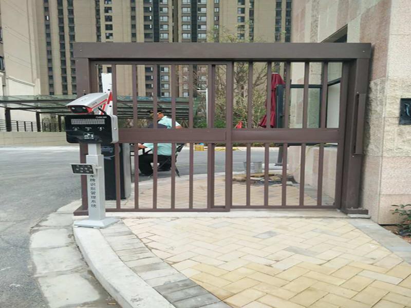 哪里有小区栅栏平移门-优惠的小区人行门哪里买