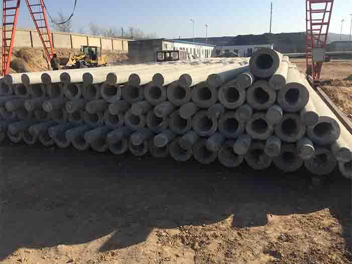 寧夏水泥電線桿地面-品質好的榆林水泥電線桿當選寧夏鑫湘水泥制品
