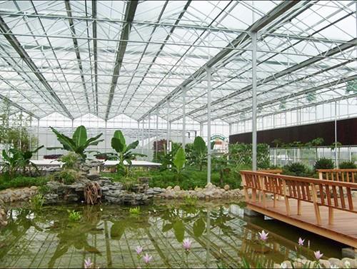 智能玻璃连栋温室大棚_山东高性价智能玻璃温室大棚