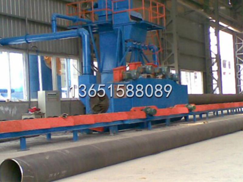 钢管钢瓶抛丸机供应商 报价合理的抛丸机大丰中冶机械供应
