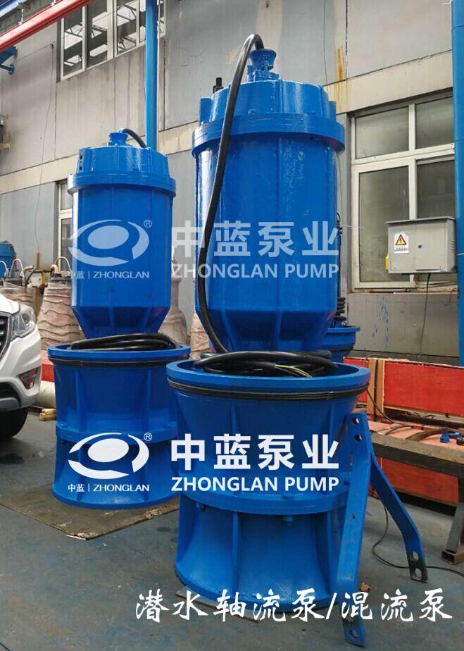 天津中蓝泵业专业供应泵站用井筒式安装轴流泵——实用的雪橇式轴流泵