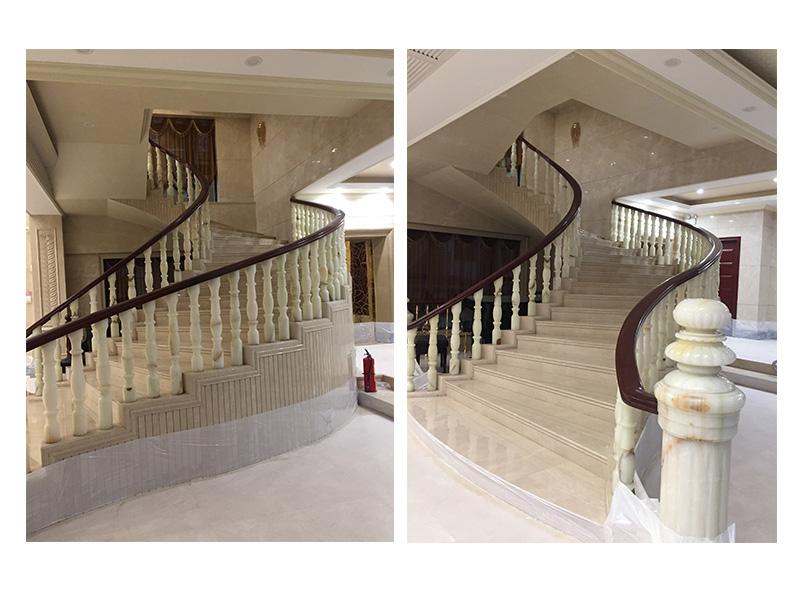 天造美石材信誉好的楼梯销售商 新中式室内设计