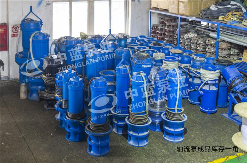 好的雪橇式轴流泵——【推荐】天津中蓝泵业供应泵站用井筒式安装轴流泵