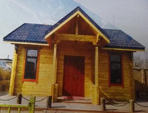 价位合理的木屋昌富亿达钢木结构供应,海口防腐木