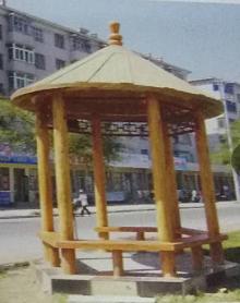 海南防腐木凉亭专业供货商|海南防腐木木板