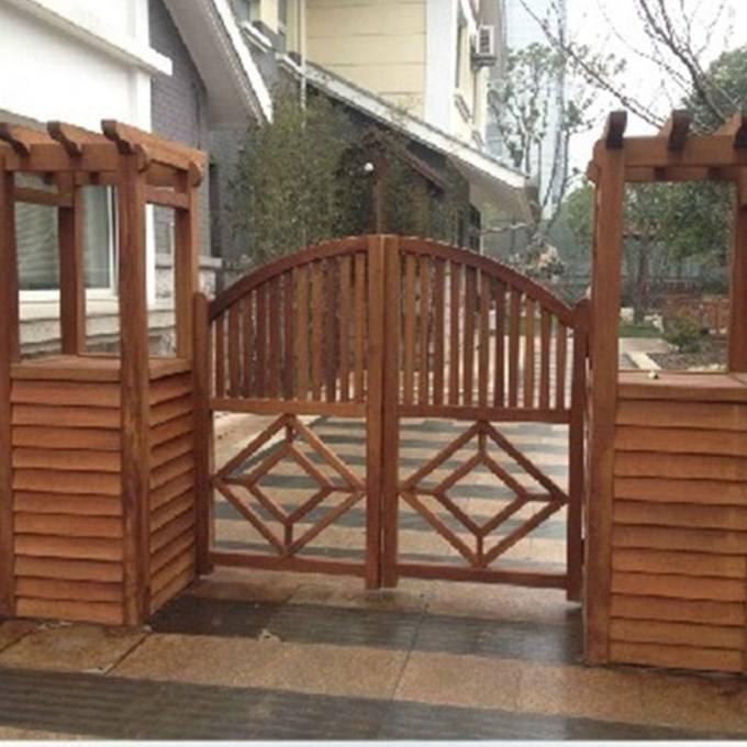 海口长廊专业供应商 海口防腐木木屋