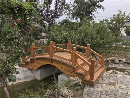 防腐木木桥值得信赖-海口防腐木长廊