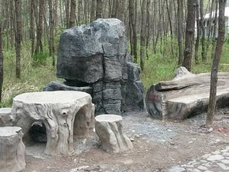 辽宁仿石仿木推荐-想要造型好的沈阳仿石仿木就到于氏景观工程