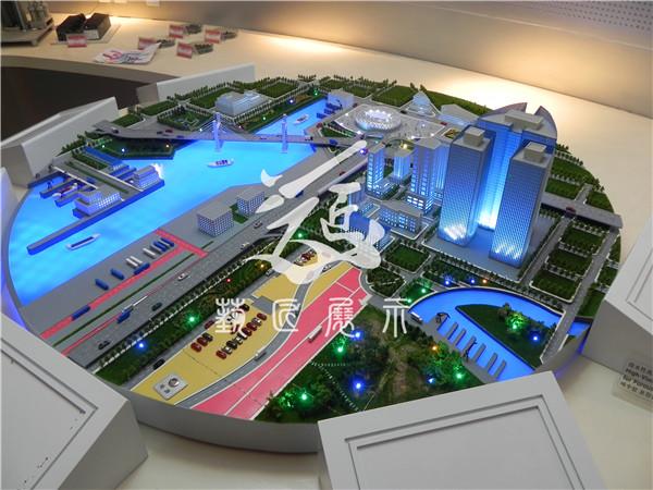 北京交通模型-北京华夏艺匠模型专业制作智能交通模型
