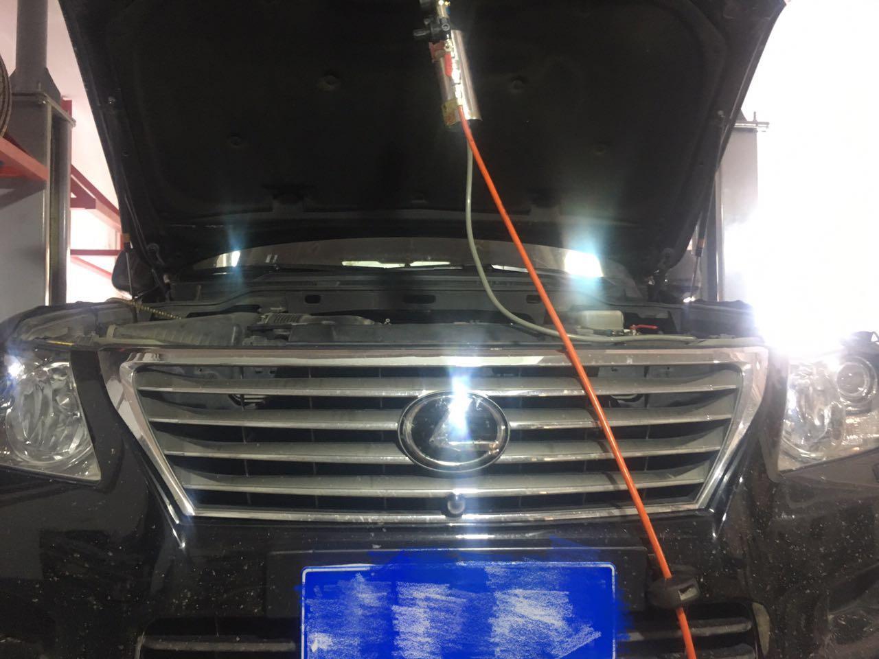 機器更換變速箱油,可視化清洗蒸發箱,檢查空調不涼,全車油更換