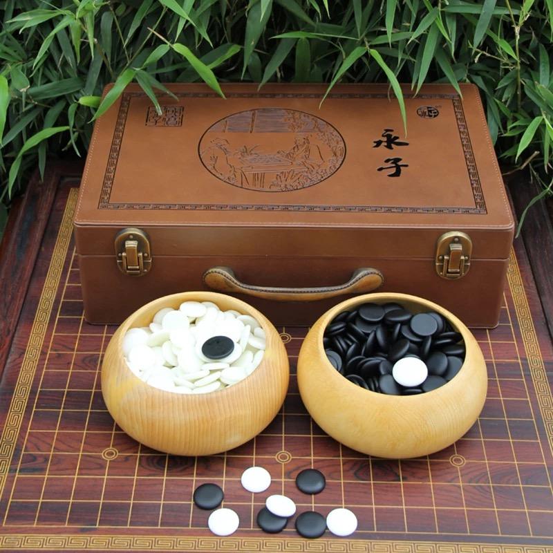 保山知名的皮箱装国宝永子围棋供应商,礼品装圣品永子