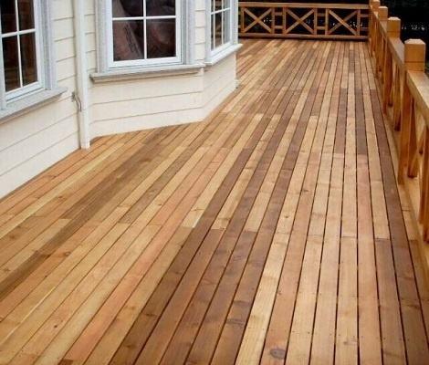 海南防腐木木板 昌富亿达钢木结构提供的防腐木地板怎么样